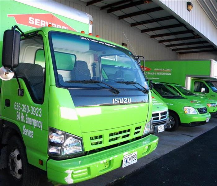 SERVPRO Vehicles