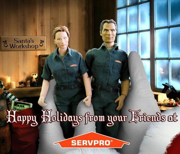 General Happy Holidays from SERVPRO