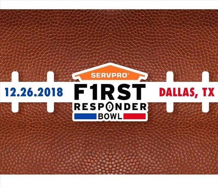 Community SERVPRO Honors Everyday Heroes with Sponsorship of SERVPRO First Responder Bowl
