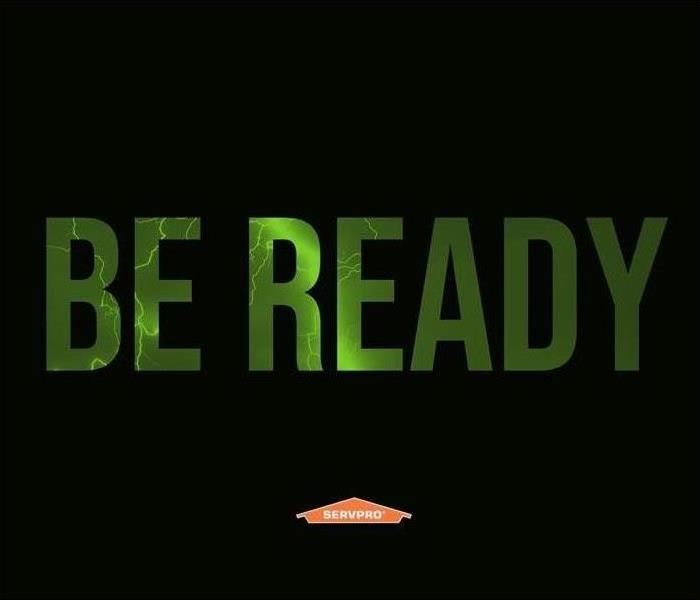 "Black background with words ""Be Ready"""