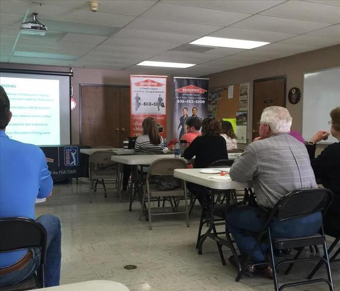 Community Restorative Drying CE Class held at Union Fire Department