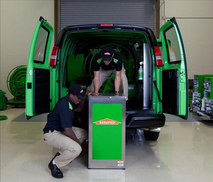 Water Damage SERVPRO – Faster to Any-Sized Disaster.