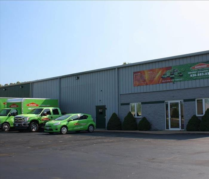 The SERVPRO of Franklin County office